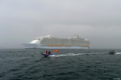 harmony of the seas cherbourg